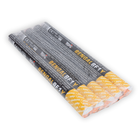 Bengalskie Ognie pochodnie yellow BF1 F1 20/5