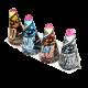 Fc4001-4 fontanny stożkowe mix efektów