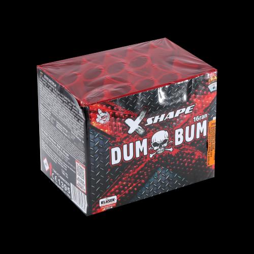 Dum Bum 16s X-shape